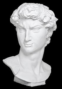 David statue head